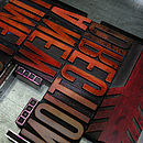 'A New Direction' Letterpress Print