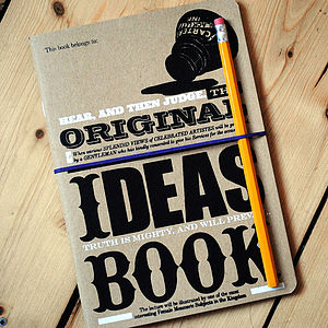 'Original Ideas Book' Notebook