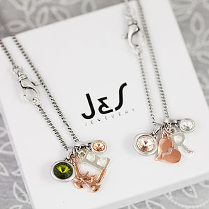 Bridesmaids Gift Necklace Set
