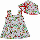 Girl's Chilli Dress And Hat Set