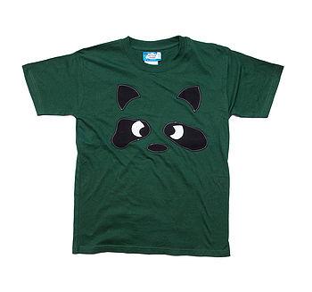 Boy's Angry Raccoon T Shirt
