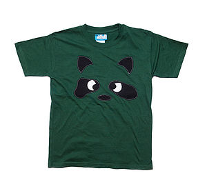 Boy's Angry Raccoon T Shirt