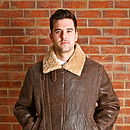 Men's Aviator Flying Jacket
