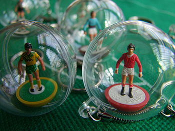 Vintage Mini Football Figure Mascot