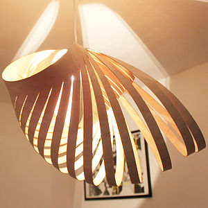 Birch Ply Nautica Light Shade - lighting