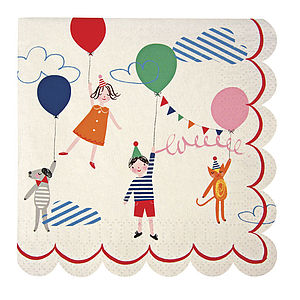 Toot Sweets Napkins - tableware