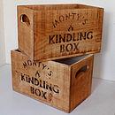 Vintage Kindling Storage Crate