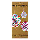 Toot Sweets Hanging Pinwheel Decorations