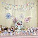 Toot Sweets Hanging Pinwheel Decorations