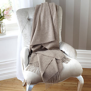 Luxurious Alpaca Throw - throws, blankets & fabric