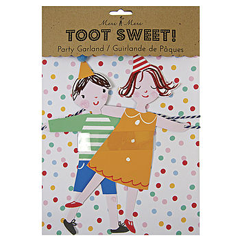 Toot Sweets Paper Garland