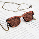 Retro Sunglasses Necklace