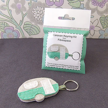 Caravan Keyring Mini Craft Kit