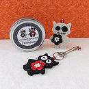 Monster Keyring Sewing Kit