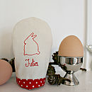 Personalised Name Hand Sewn Egg Cosy