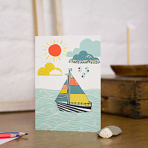 Sailor's Life For Me Blank Greetings Card