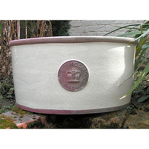 Kew Oval Trough - pots & windowboxes