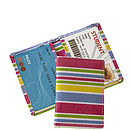 Striped Card Case