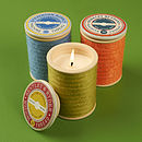 Large Spool Scented Candle