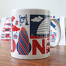 London Typographic Mug