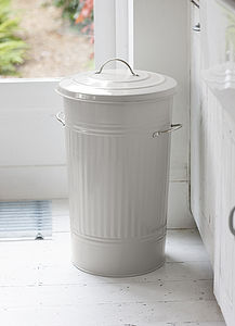 Steel Kitchen Bin - bins & buckets