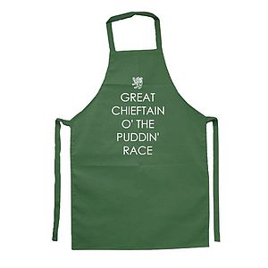 'Great Chieftain O The Puddin Race' Apron