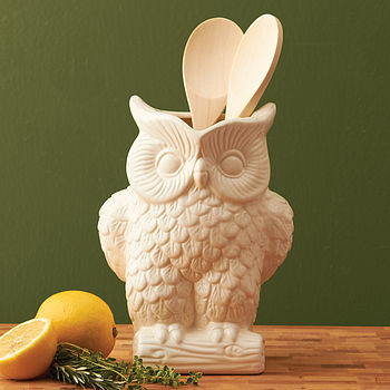 Owl Ceramic Pitcher Large
