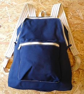 Canvas Backpack - bags & luggage