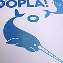 Child's Room Art 'Let's Hoopla' Screen Print