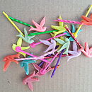 Set Of Five Pairs Of Birdy Hair Slides
