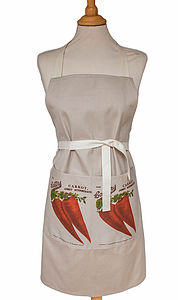 Carrot Kitchen Apron