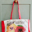 Nasturtium Shopping Bag