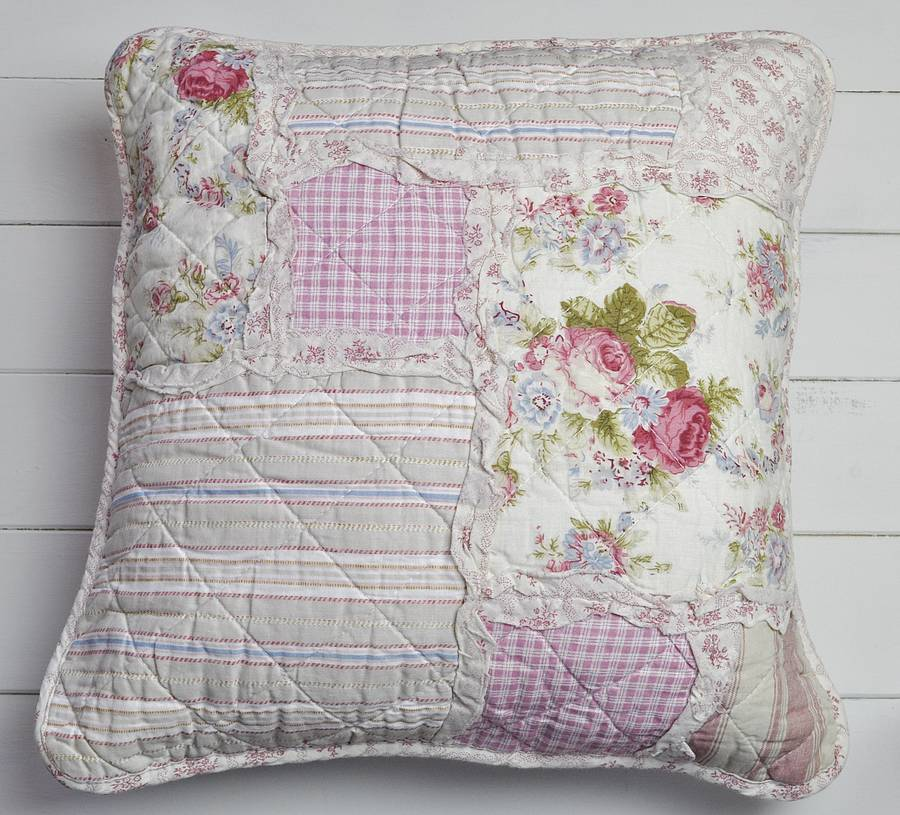 decorative cushion cover maria shabby chic pinterest. Black Bedroom Furniture Sets. Home Design Ideas