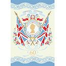 Coronation Cotton Tea Towel
