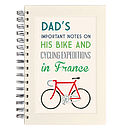 Personalised Communiqué Bike Notebook