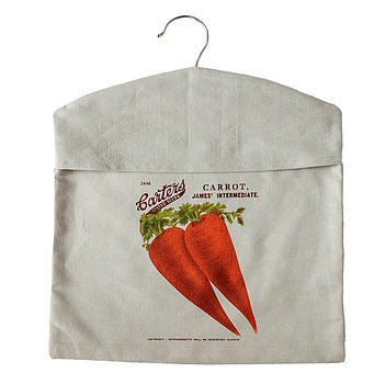 Carrot Peg Bag
