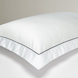 Oxford Pillowcase With Inset Trim - bed, bath & table linen
