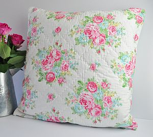 Floral Vintage Style Cushion - cushions