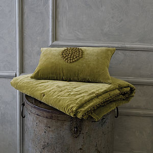 Verde Comforter Throw - throws, blankets & fabric
