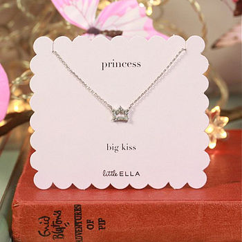 Girl's Princess Necklace