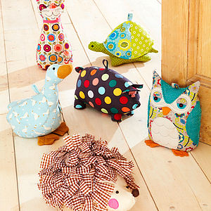 Animal Shaped Doorstops - baby's room