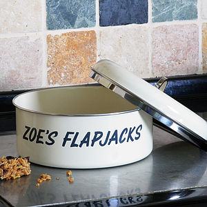 Personalised Retro Cake Tin - storage