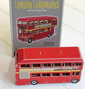 Make Your Own London Landmark - shop by price