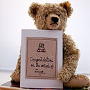 Liberty Print New Baby Card