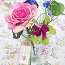 Rose Silk Posy