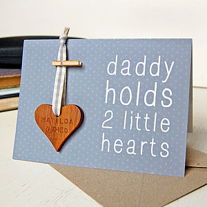 Personalised Daddy Token Card - last-minute cards & wrap