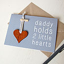 Personalised Daddy Token Card