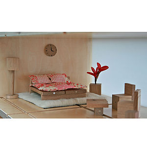 Magnetic Dolls House Bedroom Furniture