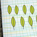 Leaves Notebook by Angela Chick