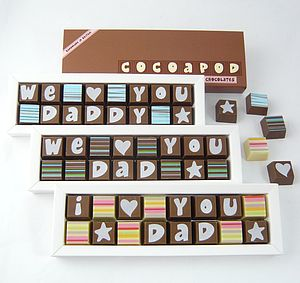 Chocolates For Fathers Day - wedding thank you gifts